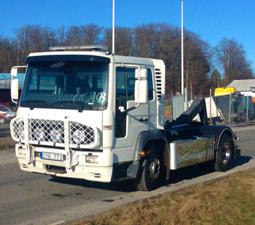 Vår lastbilsvxäxlare på Jonssonbolagen Ab